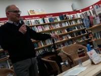 Ivan Nossa presents his new book in Novara, Bologna and Brescia