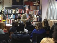 Ivan meets friends and readers in Verona, Sondrio and Aosta